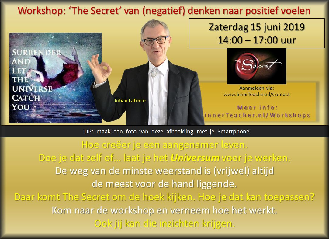 Foto: Workshop The Secret